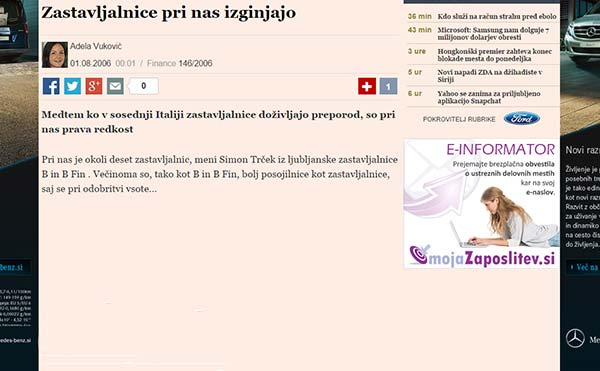 Finance.si